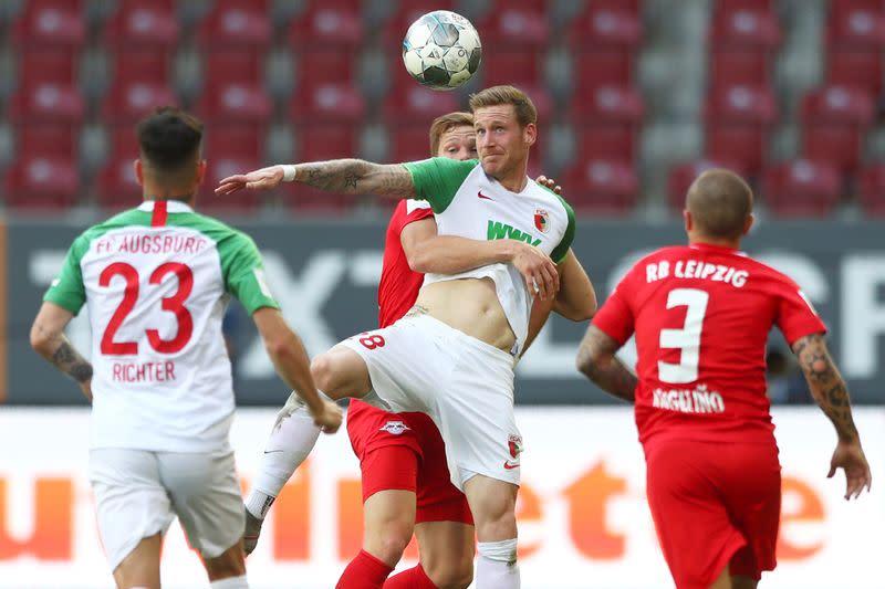 Bundesliga - FC Augsburg v RB Leipzig
