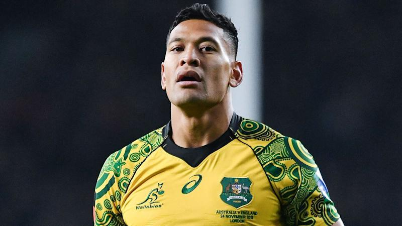 Israel Folau launches legal action against Rugby Australia