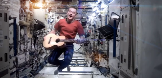 "Bowie's ""Space Oddity"" Taken to New Heights by Space Station Astronaut"
