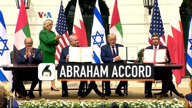VIDEO: Pro-Kontra Seputar Penandatanganan Abraham Accord
