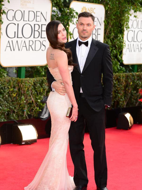 Pasangan selebriti Meghan Fox dan Brian Austin rupanya kembali rujuk, pasalnya kedua pasangan ini beberapa waktu yang lalu sempat dikabarkan ingin bercerai. (AFP/Bintang.com)