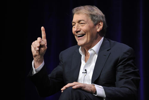 "Charlie Rose, host of ""Charlie Rose: The Week,"" addresses reporters during the PBS Summer 2013 TCA press tour at the Beverly Hilton Hotel on Wednesday, Aug. 7, 2013 in Beverly Hills, Calif. (Photo by Chris Pizzello/Invision/AP)"