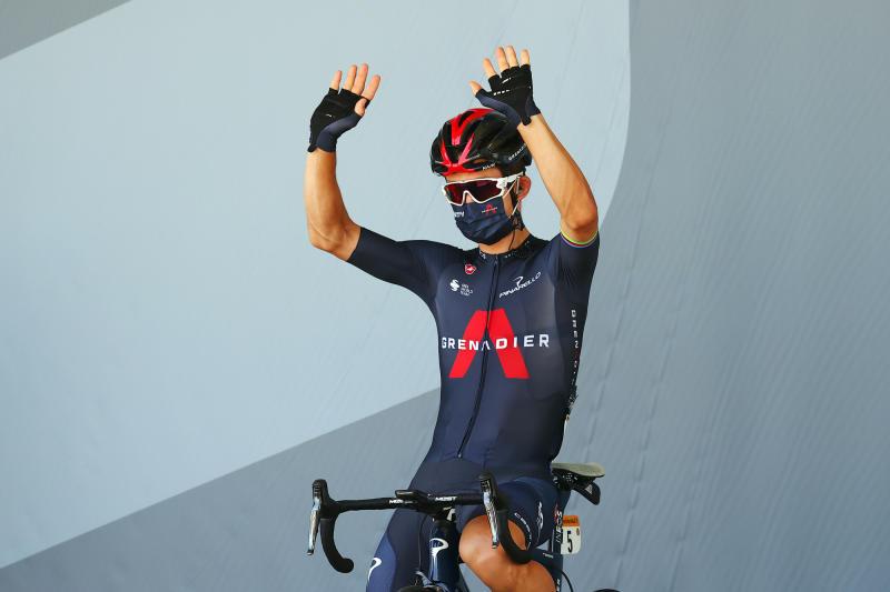 Tour de France 2020 - 107th Edition - 19th stage Bourg-en-Bresse - Champagnole 166,5 KM - 18/09/2020 - Michal Kwiatkowski (POL - Team Ineos) - photo Luca Bettini/BettiniPhoto©2020