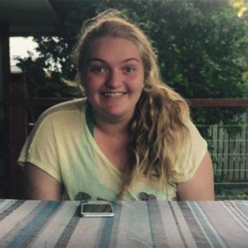 The QLD teen was bullied and suffered depression before her lifestyle change. Photo: Youtube