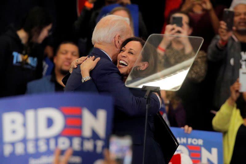 Kamala Harris calon kuat pendamping Joe Biden