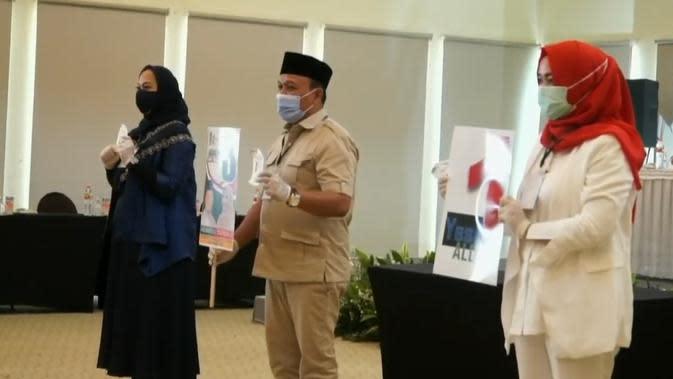KPU Karawang Tetapkan Paslon, Adly Fairuz Dapat Nomor Urut 1