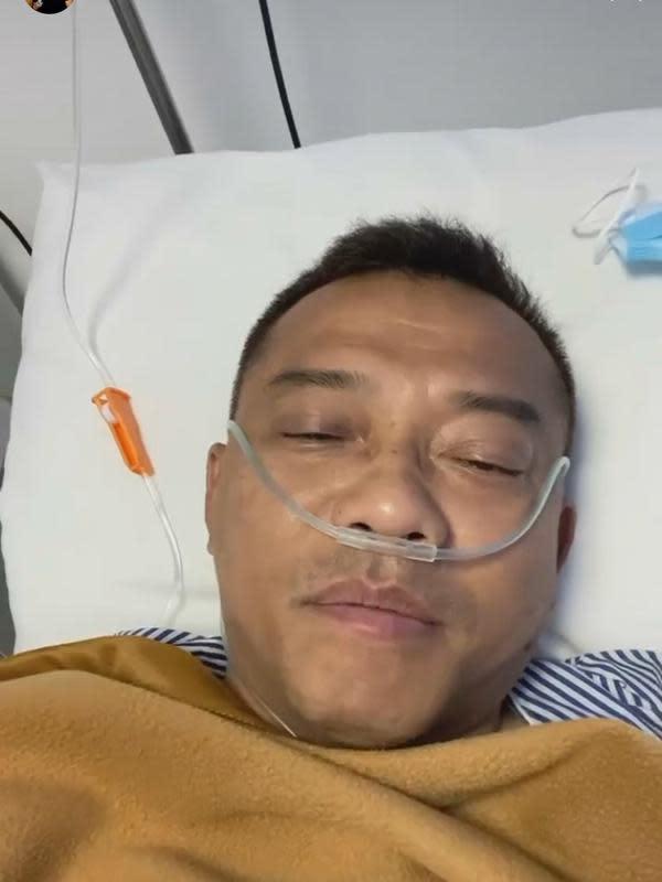 Usai Operasi di Bali, Anang Hermansyah Masih Pakai Infus ...