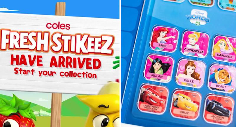 Photo of promotions run by Coles and Woolworths as new collectables are set to return.