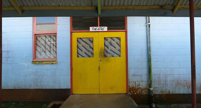 An external view of Lorengau Hospital on Manus Island. Source: AAP