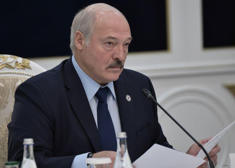 Belarus's Lukashenko plans government reshuffle in new year: Belta