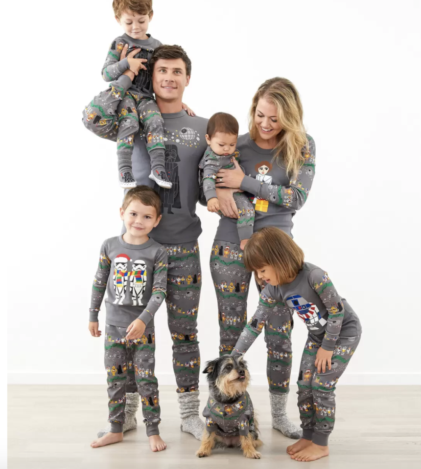 """<p>Coordinating family pajamas are a must-have for those quintessential family photos. Hanna Andersson's family jammies are made of comfy cotton, and come with fun characters from Star Wars, DC Comics, the Avengers and Peanuts, among others.</p><p><a class=""""body-btn-link"""" href=""""https://go.redirectingat.com?id=74968X1596630&url=https%3A%2F%2Fwww.hannaandersson.com%2Ffamily-pajamas%2F&sref=https%3A%2F%2Fwww.goodhousekeeping.com%2Fholidays%2Fgift-ideas%2Fg34395671%2Fbest-gifts-for-parents%2F"""" target=""""_blank"""">SHOP NOW</a></p><p><strong>RELATED:</strong> <a href=""""https://www.goodhousekeeping.com/holidays/christmas-ideas/g4946/matching-family-christmas-pajamas/"""" target=""""_blank"""">The Best Matching Family Christmas Pajamas to Celebrate in the Coziest Way Possible</a></p>"""