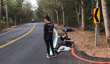 男大生騎車行經彰化139縣道 過彎自摔不治 (圖)