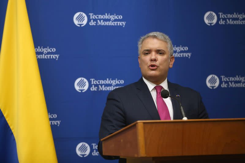 Venezuela looking to buy Iranian missiles - Colombian president says