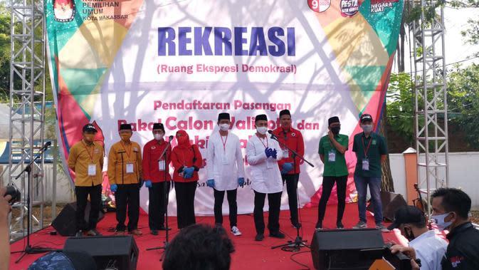 Diusung Koalisi Pelangi, 'Dilan' Yakin Menang di Pilwalkot Makassar 2020