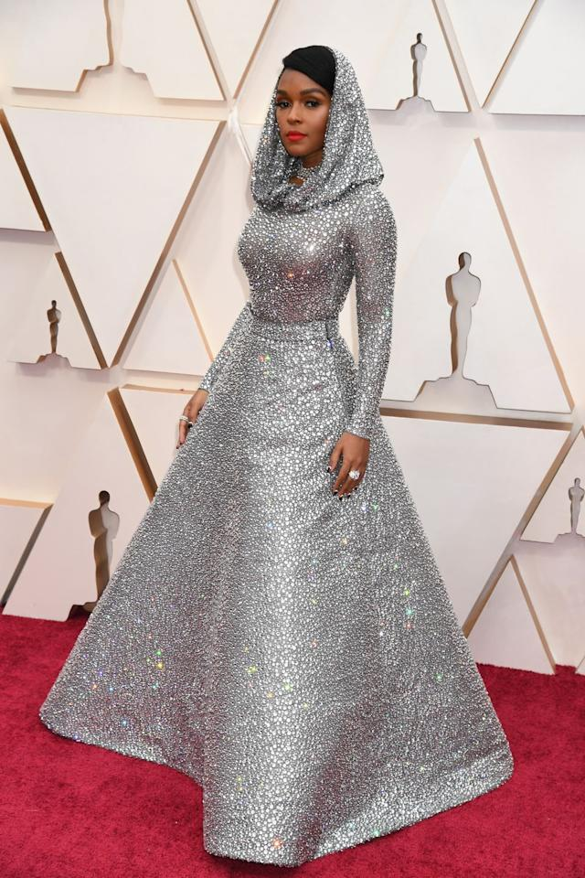 <p>Who: Janelle Monáe</p><p>When: February 9, 2020</p><p>Wearing: Ralph Lauren</p><p>Why: If the earth ever has to send a human representative to an outer space confederation, it should be Janelle Monae wearing this Oscars look. Her sci-fi chic presence would stop an alien invasion, winning her best dressed of the week. </p>