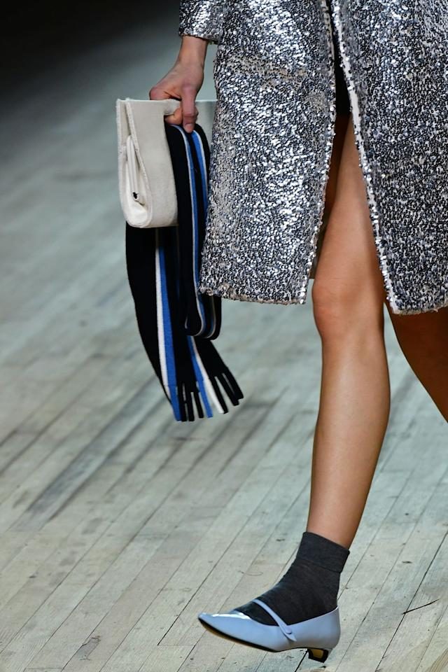 <p>The Mary Jane is back in every shape, style and color you can imagine. From Nodaleto's girlish platforms to adorably dainty blue Marc Jacobs kitten heels, you won't be hard-pressed to find an MJ that fits your style. </p><p><em>Pictured: Marc Jacobs</em></p>