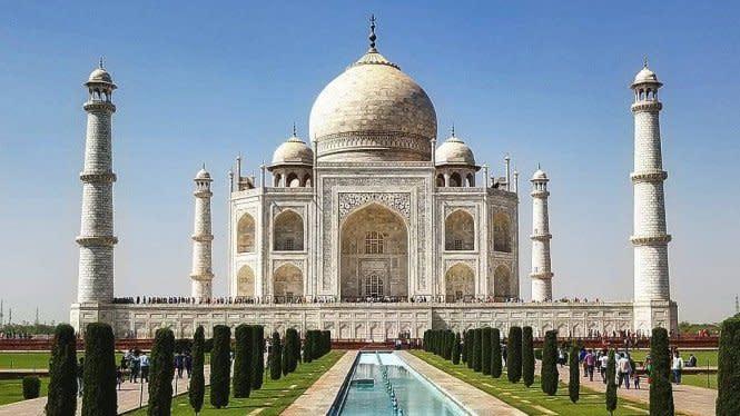 Monumen Ikonik Taj Mahal India Kembali Dibuka Usai Tutup 6 Bulan
