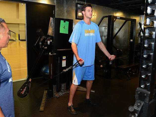 The Denver Nuggets gambled on Danilo Gallinari's recovery from an ACL tear, and lost