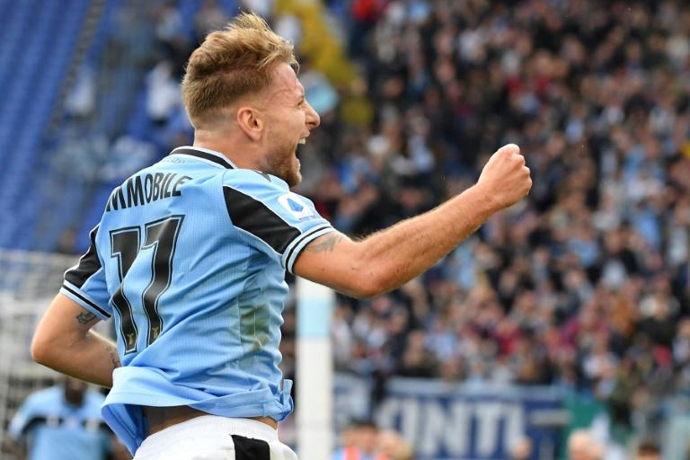 Lazio's Ciro Immobile leads the way with 25 Serie A goals this season