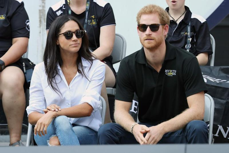 Meghan and Prince Harry are said to be close to announcing their engagement. Photo: Getty Images