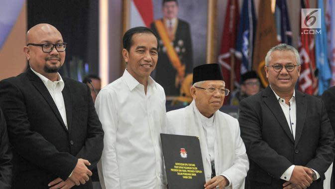 Bertemu Jokowi di Istana, Ini yang Dilaporkan KPU