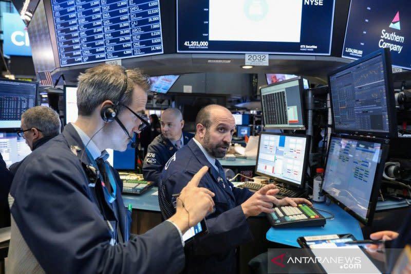 Wall Street turun akibat meningkatnya ketakutan atas virus corona