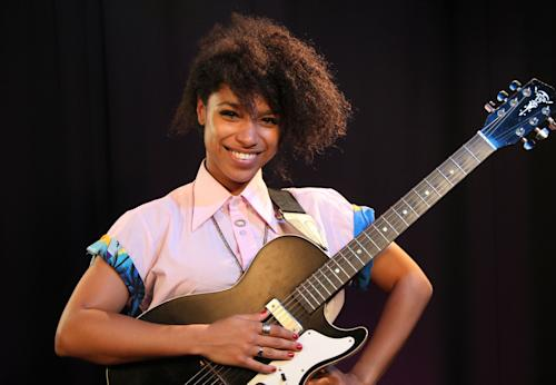 "This Aug. 3, 2012 photo shows British singer Lianne La Havas in New York. La Havas released her debut album, ""Is Your Love Big Enough?,"" in August and she'll join John Legend on tour in October. (AP Photo/John Carucci)"