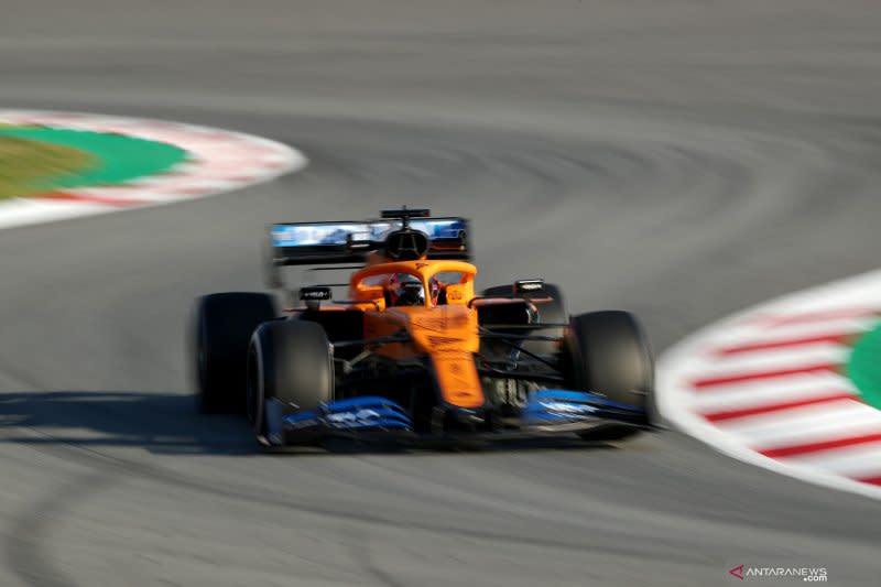 Demi pencegahan virus corona, McLaren batasi akses di tes Barcelona