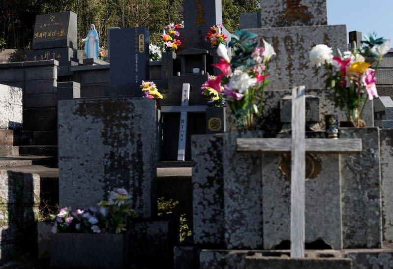 Kristen Tersembunyi Jepang yang menua cemas mereka akan jadi generasi terakhir
