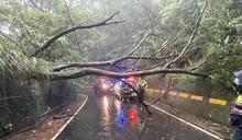 烟花颱風逐漸遠離 新北撤除二級開設