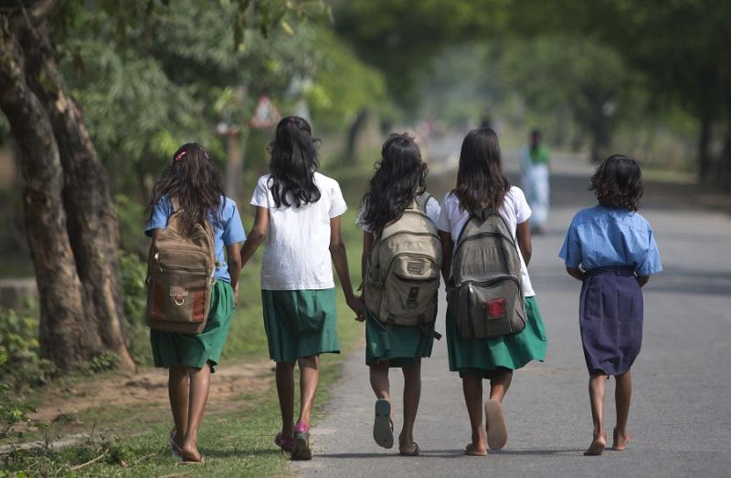 According to the UNESCO Education for All Global Monitoring Report 2015, only half of all countries have achieved the most watched goal of universal primary enrollment. The report launched Thursday says, India has reduced its out of school children by over 90% Since 2000.(Filephoto)