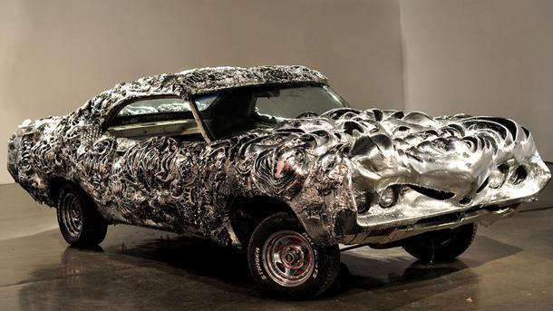 How a Ford Torino became a liquid metal sculpture