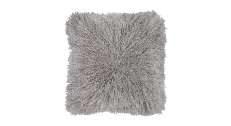 Haddie Mongolian Fur Cushion