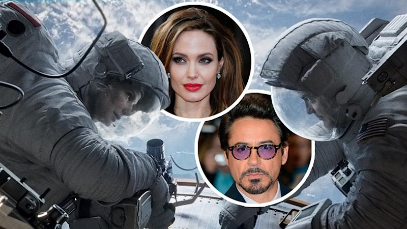 'Gravity' Almost Starred Angelina Jolie and Robert Downey Jr