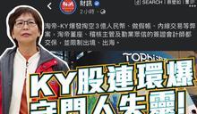 淘帝-KY股爆掏空/蔡壁如批KY股連環爆 守門人失靈