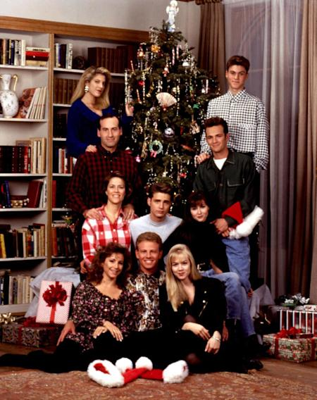 """Beverly Hills, 90210"" holiday episodes on ABC Family Thursday, 12/20, 7am-11am"