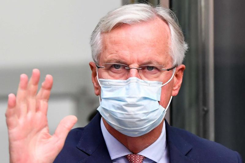 Michel Barnier is neither optimistic nor pessimistic (REUTERS)