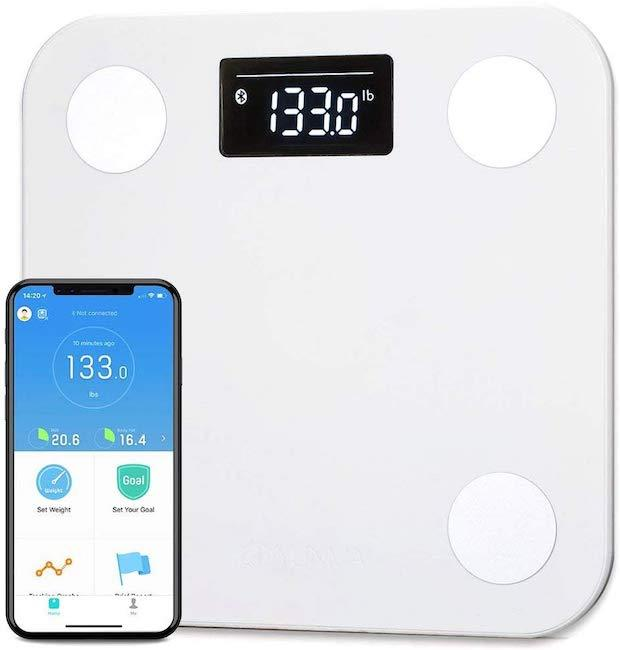 YUNMAI Smart Scale with Free App. (Photo: Amazon)