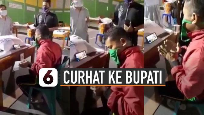 VIDEO: Viral Curhat Pasien Isolasi Kepada Bupati