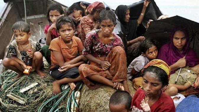 Ilustrasi muslim Rohingya (AFP Photo)