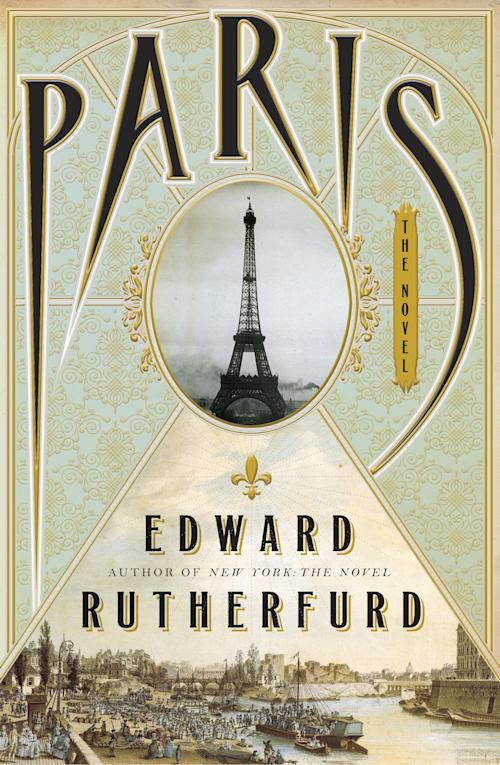 """This book cover image released by Doubleday shows """"Paris,"""" by Edward Rutherfurd. (AP Photo/Doubleday)"""