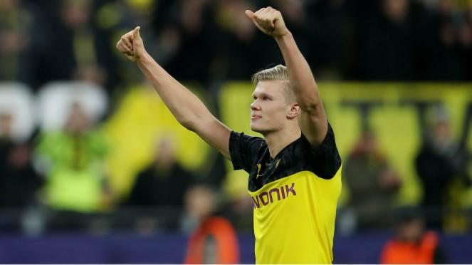 Bomber Borussia Dortmund, Erling Haaland