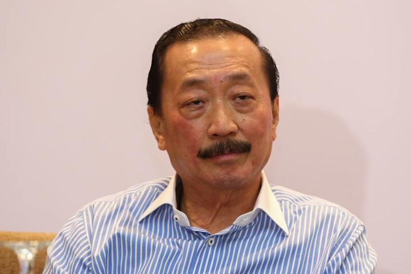 Tan Sri Vincent Tan claims that the Perak-based SEA Gamer Mall has no ties with Berjaya Corporation Berhad Group of Companies. ― Picture by Yusof Mat Isa
