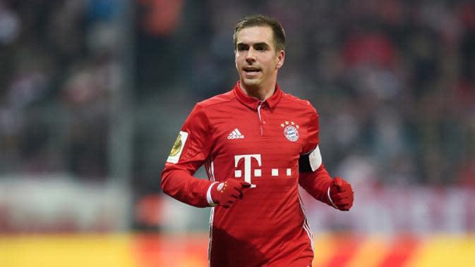 Kapten Bayern Munchen asal Jerman, Philipp Lahm. (AFP/Christof Stache)