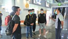 屏東役男入營 軍友站宣導提供服務內容