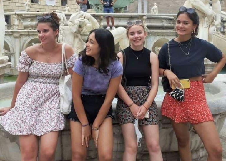 Virus turns London teens' Italian holiday into nightmare