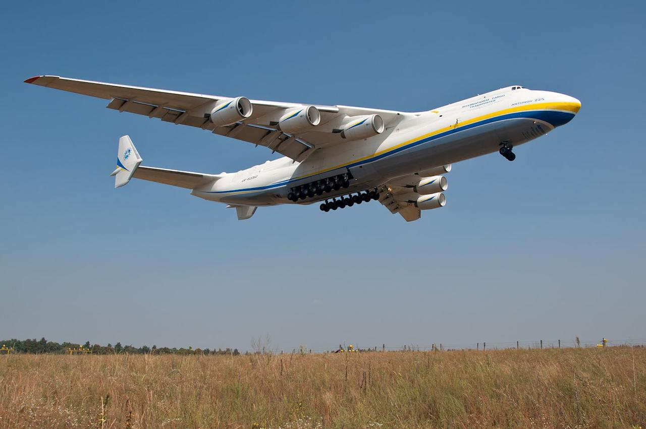 """<p>By most metrics, the <a href=""""https://www.popularmechanics.com/military/aviation/a32162223/antonov-225-mriya/"""" target=""""_blank"""">Antonov An-225 </a>is the biggest plane in the world. The Antonov Design Bureau in Ukrainian SSR built just one of these monster cargo aircraft. Antonov designed it to carry the Buran spaceplane (the Soviet version of the space shuttle) as well as Energia rocket boosters, but the plane quickly found other airlifting work after being refurbished following the collapse of the Soviet space program. </p><p>The An-225 is the heaviest aircraft ever built, with a maximum takeoff weight of 710 tons. It holds the record for total airlifted payload at 559,580 pounds, as well as airlifted single-item payload at 418,830 pounds. It has the longest wingspan of any plane currently flying at 290 feet, and six freakin' engines.</p><p>In 2020, the hulking aircraft <a href=""""https://www.popularmechanics.com/military/aviation/a32147741/antonov-225-covid-19/"""" target=""""_blank"""">joined the global fight against COVID-19</a>, when it took to the skies to deliver supplies to countries around the world whose resources were stretched by the pandemic.</p>"""