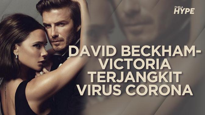 David Beckham dan Victoria Dikabarkan Terinfeksi Virus Corona