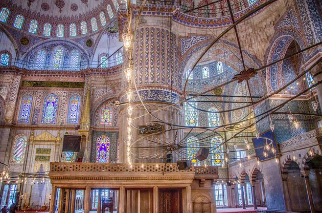 Flickr photo of the day: Inside the Blue Mosque