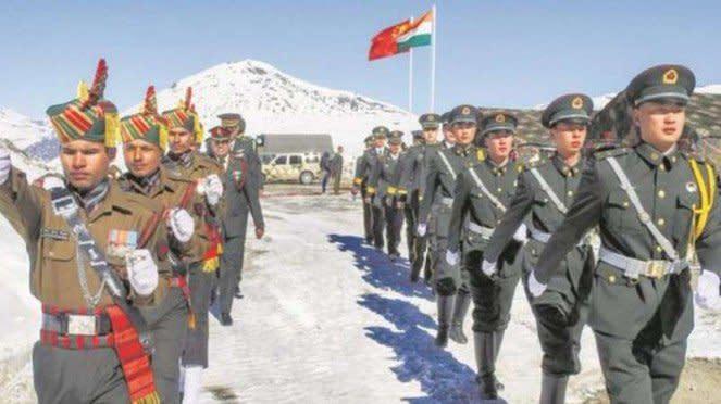 VIVA Militer: Militer India dan China di perbatasan Ladakh.